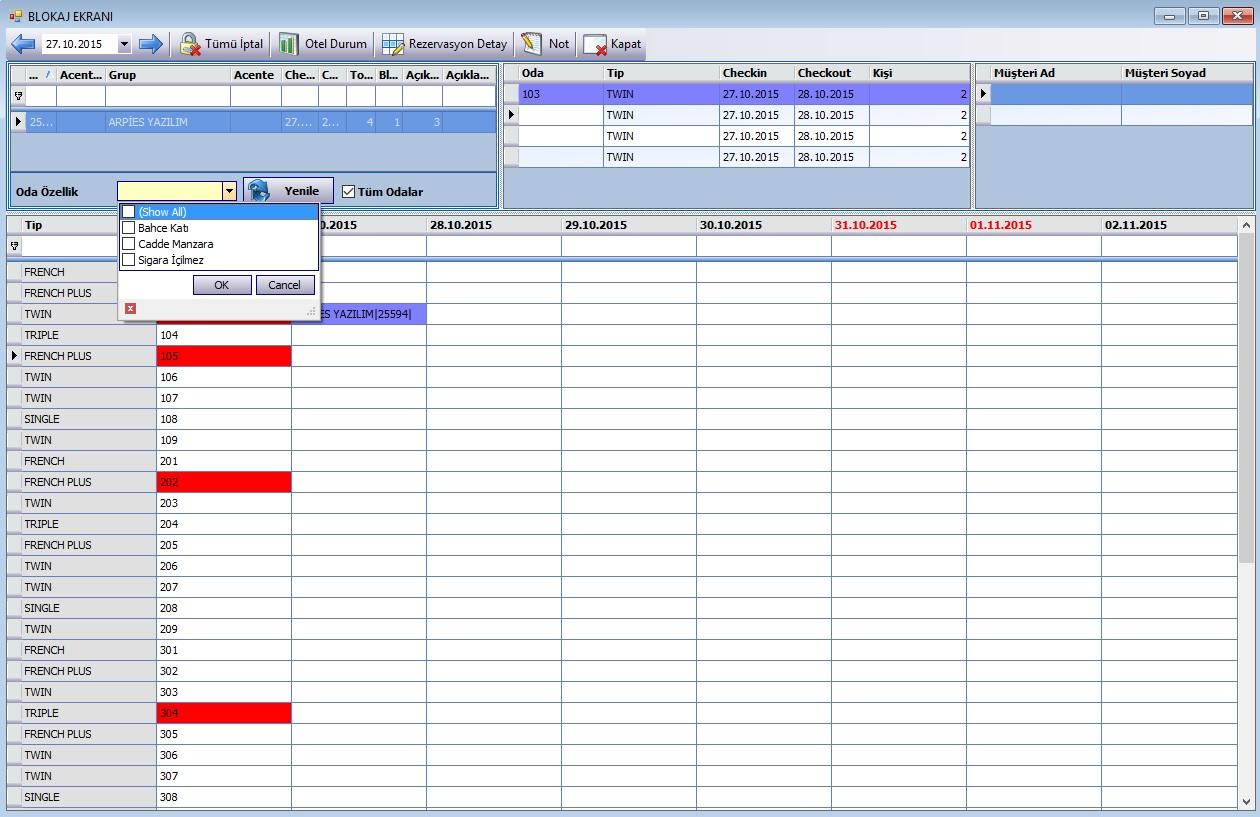 MegaSuite | Otel Yönetim Programı | 64 Megabyte Bilişim Ajansı